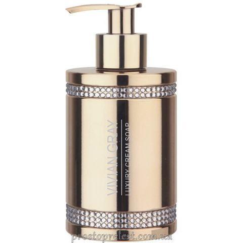 Vivian Gray Golden Crystals Luxury Cream Soap - Рідке крем-мило