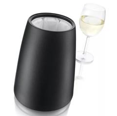 Охладительное ведёрко Элегант для вина, черное, фото 4