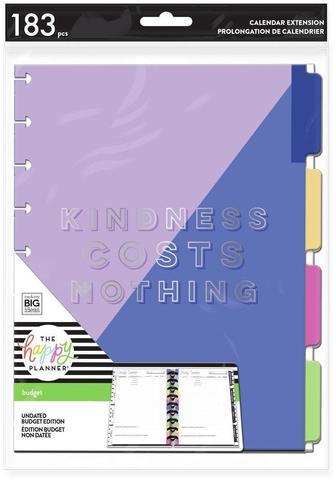 Внутренний блок  для планера Kindness Costs Nothing Classic Budget Extension Pack