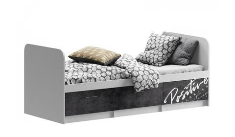Кровать Вега позитив с ящиком