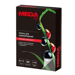 Пленка для ламинирования Promega office 80x110 мм 100 мкм глянцевая (100 штук в упаковке)
