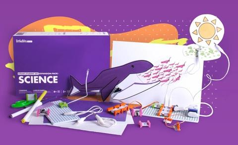 Ресурсный комплект модульной электроники «Наука littleBits»