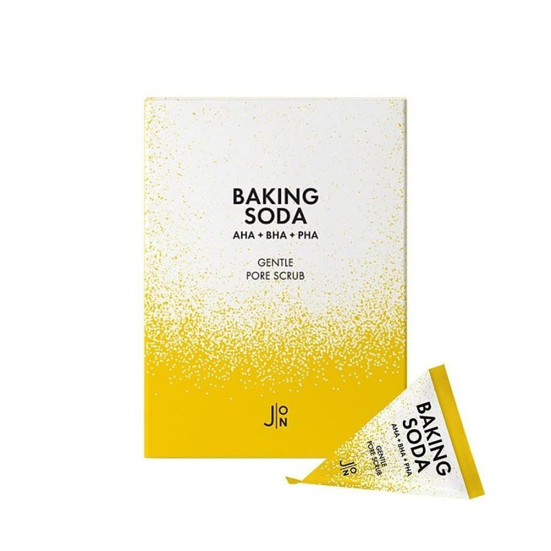 Пилинги, скрабы Скраб для лица СОДОВЫЙ  J:ON Baking Soda Gentle Pore Scrub 5гр baking_soda-800x800.jpg