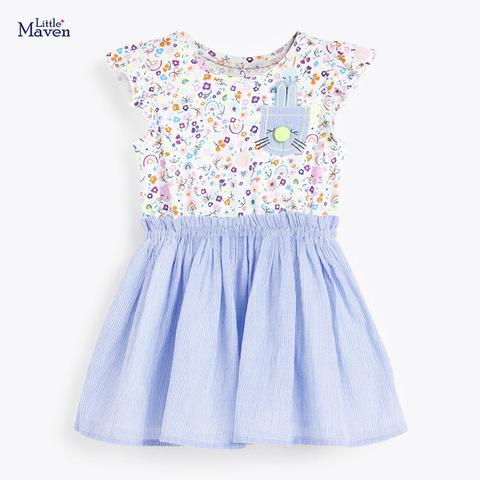 Платье для девочки Little Maven Кармашек.