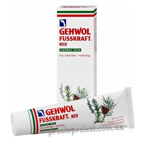 Gehwol Fusskraft Red For Normal Skin - Красный бальзам для нормальной кожи