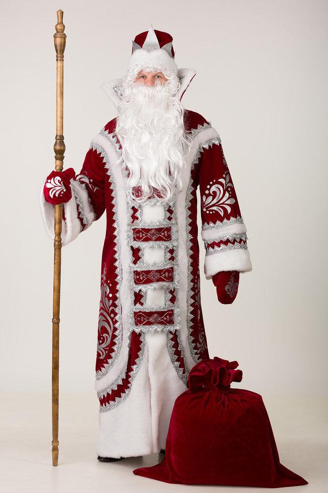 Дед Мороз Купеческий бордо