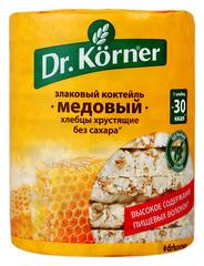 """Хлебцы """"Dr. Korner"""" злаковый коктейль с медом 100 г"""