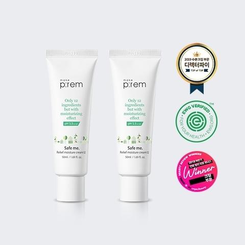 Купить MAKE P:REM Safe me Relief Moisture Cream 12- Увлажняющий крем для чувствительной кожи