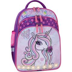 Рюкзак школьный Bagland Mouse фиолетовый 678 (00513702)