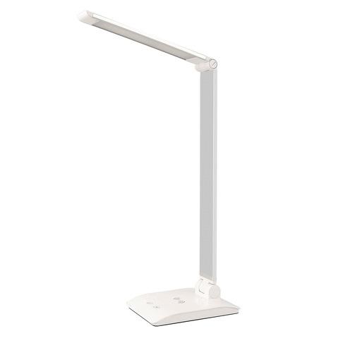 Светильник настольный LE LED TL White с беспроводной зарядкой