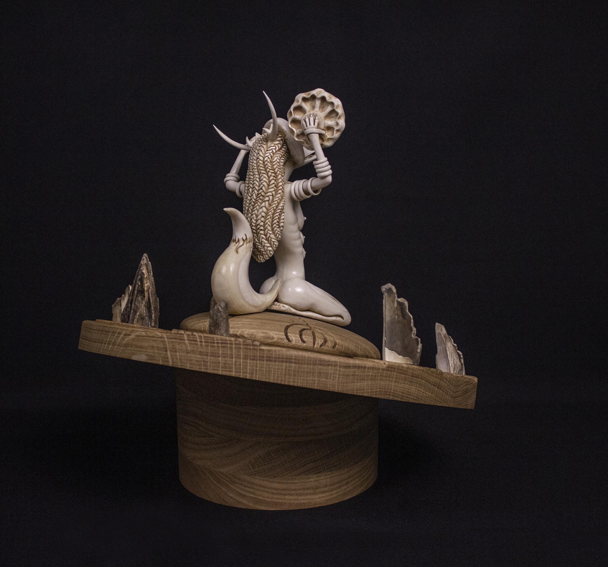 Тысячелетняя лиса из бивня мамонта | Эксклюзив