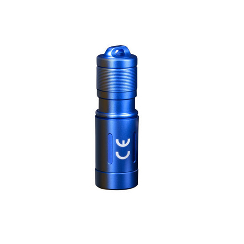 Фонарь Fenix E02R (синий) 200lm