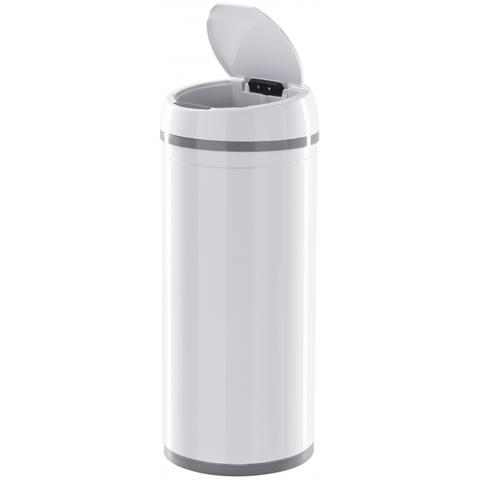 Ведро для мусора сенсорное  TESLER STB-18 WHITE