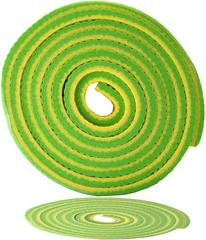 Коврик для фитнеса Original FitTools Banana Lime - 2