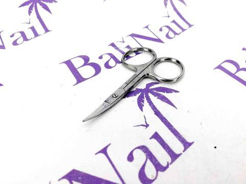 Ногтевые ножницы (блестящие) - изогнутые - 7,5 см