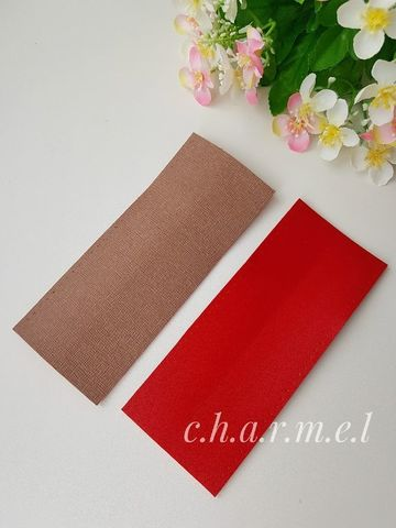 Накладка на ручку 15*3 см., цвет Молочный шоколад