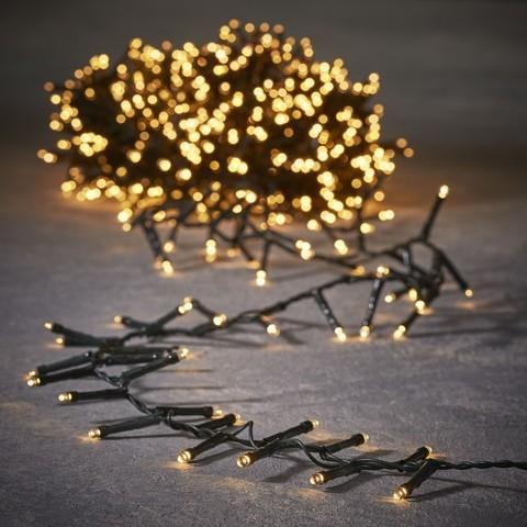 Гирлянда Luca Lighting теплый белый свет (700 ламп, длина гирлянды 1400 см) для ёлки 215 см