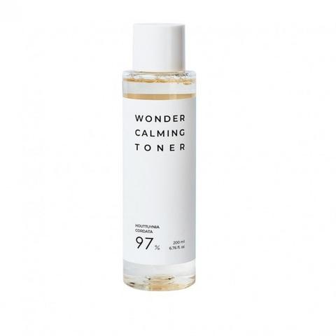 Esthetic House Wonder Calming Toner противовоспалительный тонер с экстрактом Хауттюйнии