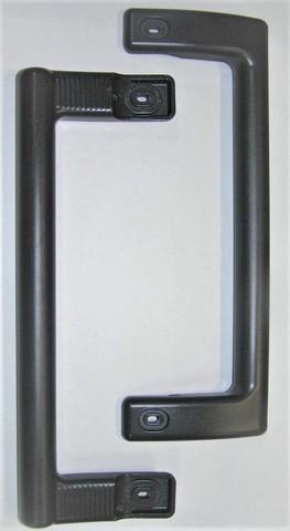 Ручка двери холодильника Минск- Атлант (скоба большая) графит 240 мм (MKAY753734002)