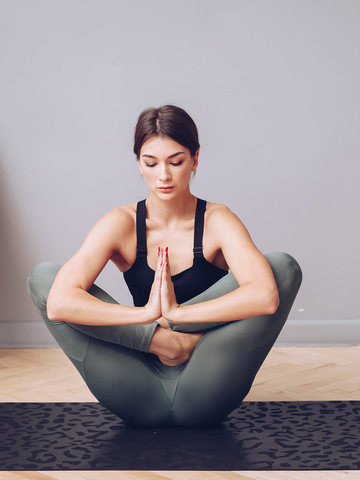 Коврик для йоги travel Non slip Panther  183*61*0,2 см