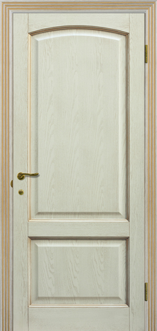 Дверь Халес Верона (слоновая кость, глухая, массив хвойных пород)