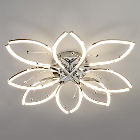 Светодиодный потолочный светильник 90092/8 хром