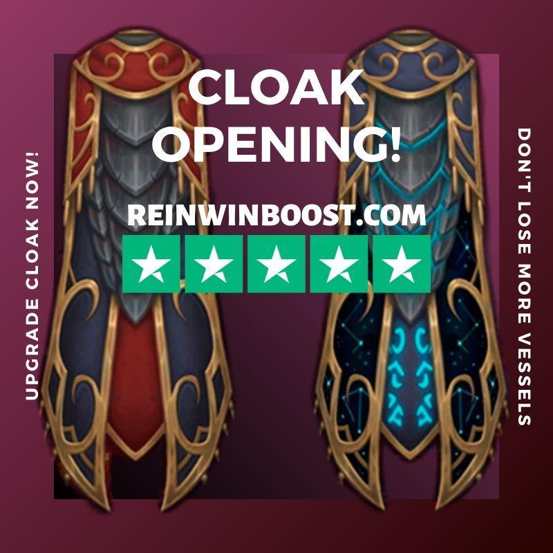 Unlocking a Legendary cloak