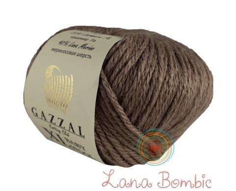 Пряжа Gazzal Baby Wool XL мокко 835