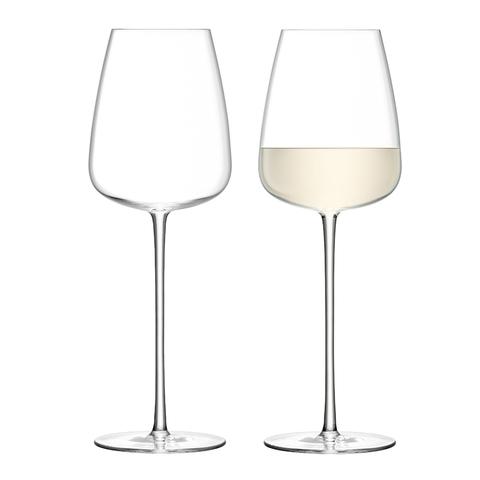 Набор из 2 бокалов для белого вина Wine Culture LSA International, 490 мл