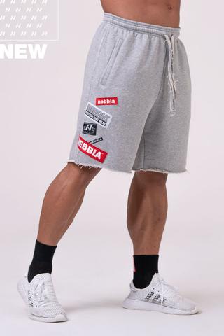 Мужские шорты Nebbia Labels 178 grey