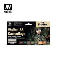 Model Color Set: Waffen SS Camouflage (8)