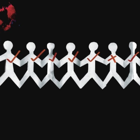 Виниловая пластинка. Three Days Grace  One-X