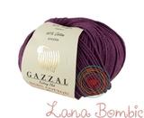 Пряжа Gazzal Baby Cotton 3441 сливовый