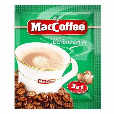 Кофе MacCofee 3 в 1 Ингрид Лесные орехи 18 гр СИНГАПУР