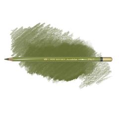 Карандаш художественный акварельный MONDELUZ, цвет 27 оливковый темный