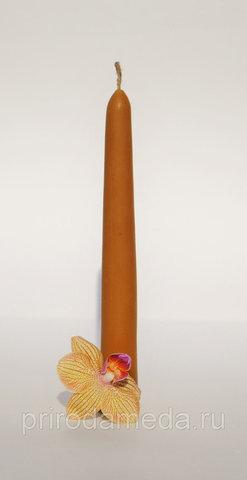 Свеча восковая Конус 14 см