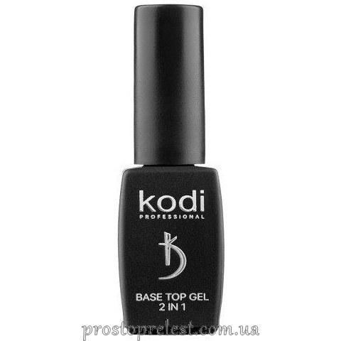Kodi Professional Base Top - Основа и финиш для гель-лака 2 в 1
