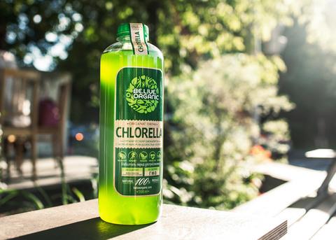 Beliveorganic Напиток безалкогольный из водоросли хлорелла, 500 мл