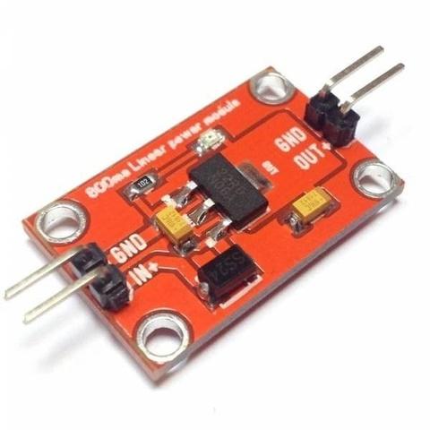 Источник напряжения 3.3В, 800мА - AMS1117-3.3V