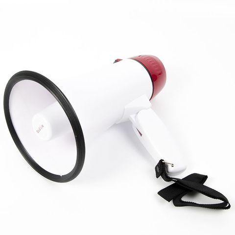 ЭМ-10сз (бел/кр) громкоговоритель ручной компактный 10Вт, сирена, запись