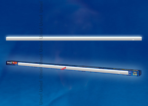 ULI-L02-9W-4200K-SL Светильник линейный светодиодный (аналог Т5). Белый свет. 650Lm. Выключатель на корпусе. Серебристый. TM Uniel.