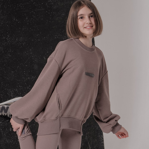 Свитшот CASUAL FOR KIDS, капучино