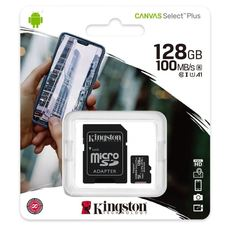Карта памяти Kingston Canvas Select Plus microSD + NOOBS