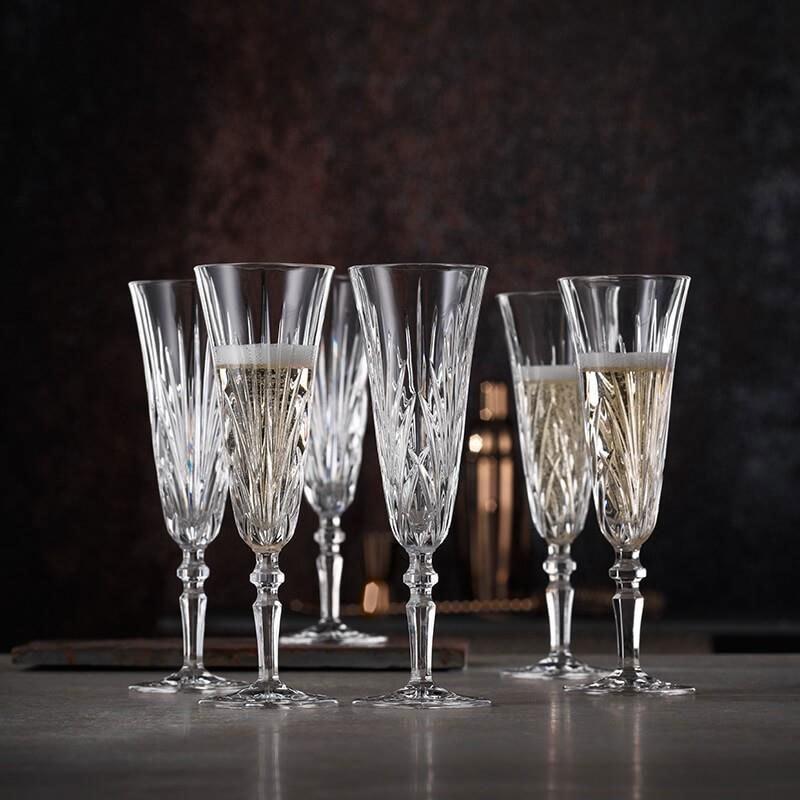 Набор фужеров для шампанского 6 шт,для красного 6 шт и белого вина 6 шт, Palais Nachtmann