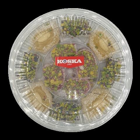 Дворцовый рахат-лукум с миксом из орехов в кокосовой стружке KOSKA, 300 гр