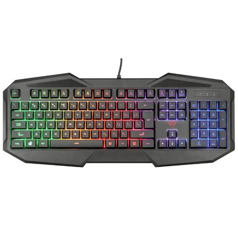 Klaviatura \ Клавиатура \ Keyboard  Trust GXT 830-RW Avonn Gaming / 22511