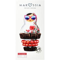 Marussia Шоколад темный  54%  с клюквой  90 г