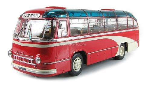 LAZ-695B Bus 1958 red Ultra Models 1:43
