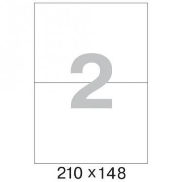 Этикетки самоклеящиеся ProMEGA Label 210x148 мм 2 шт на л. 500 л/пач