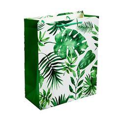 Пакет подарочный Dream Cards с матовой ламинацией 18х23х10 см Флора. плотность 210гр